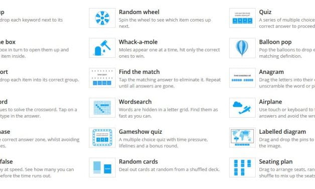 Wow! Wordwall Looks Like A Great – & Free – Site For Creating Online Learning Games