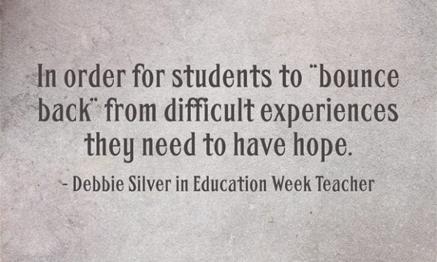 """""""Supporting Students' Capacity to 'Bounce Back'"""""""
