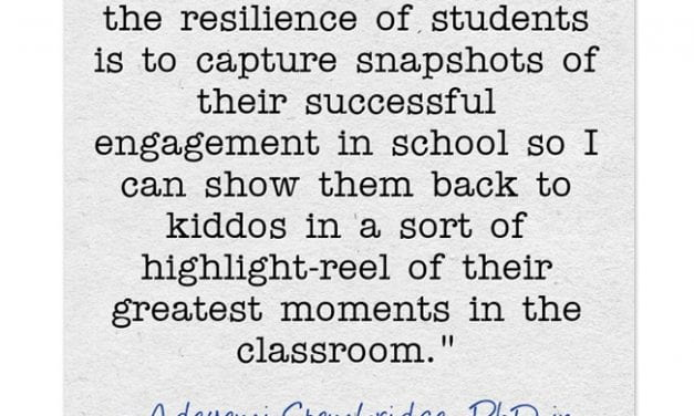 """""""Ways to Promote Resilience in the Classroom"""""""