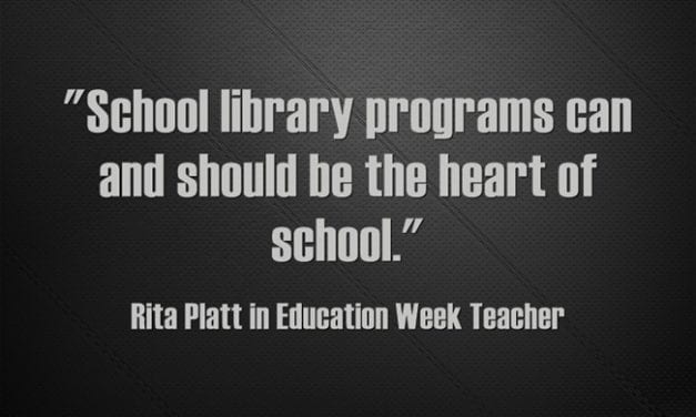 'School Library Programs Should Be the Heart of School'