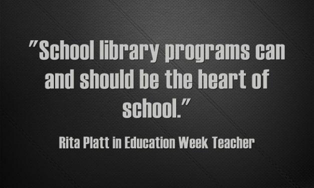 'School Library Programs Should Be the Heart of School'