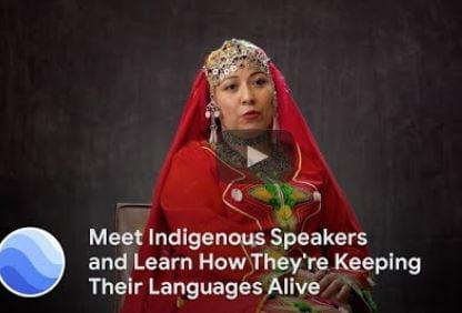 Google Creates Interactive On Indigenous Languages