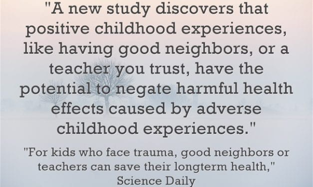 New Study Finds That Teachers Can Provide Positive Experiences To At Least Partially Counteract Student Trauma