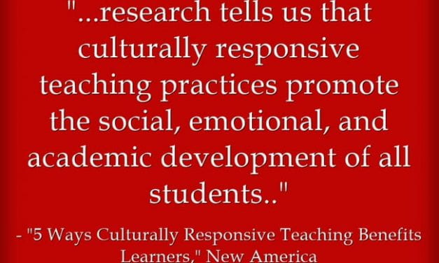 Excellent – & Short – Overview Of Culturally Responsive Teaching's Benefits