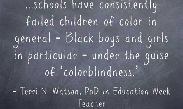 """""""The 'Colorblindness' of Schools Has 'Failed Children of Color'"""""""