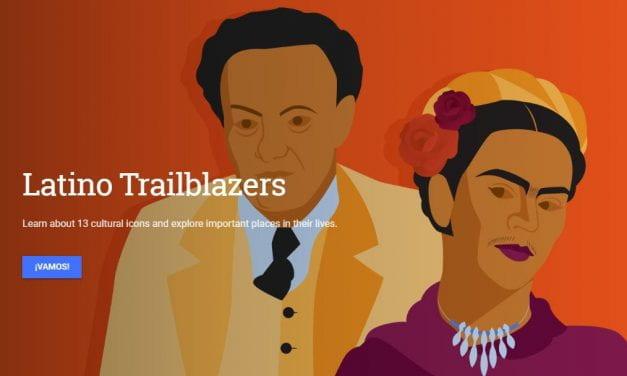 "Google Creates ""Latino Trailblazers"" Interactive"
