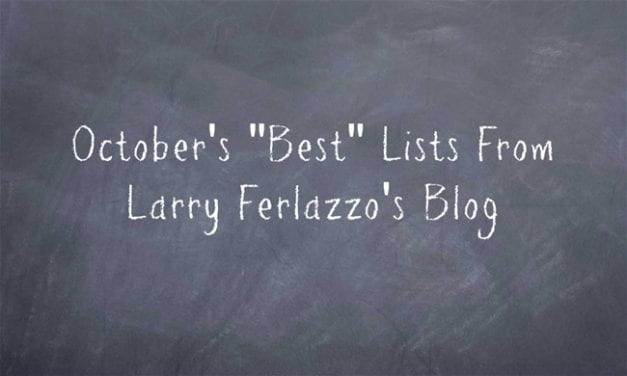 "October's ""Best"" Lists – There Are Now 2,099 Of Them!"