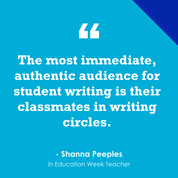 """""""Students Feel More Motivated When Writing for 'Authentic Audiences'"""""""