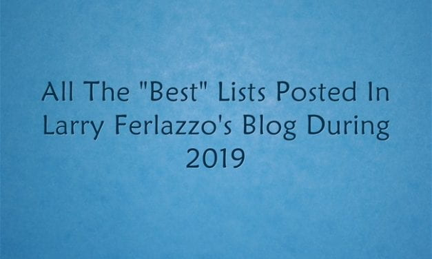"All The ""Best"" Lists Posted Here In 2019"