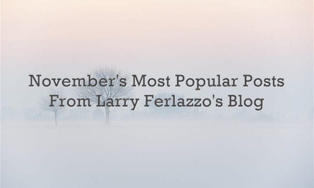 November's Most Popular Posts From This Blog