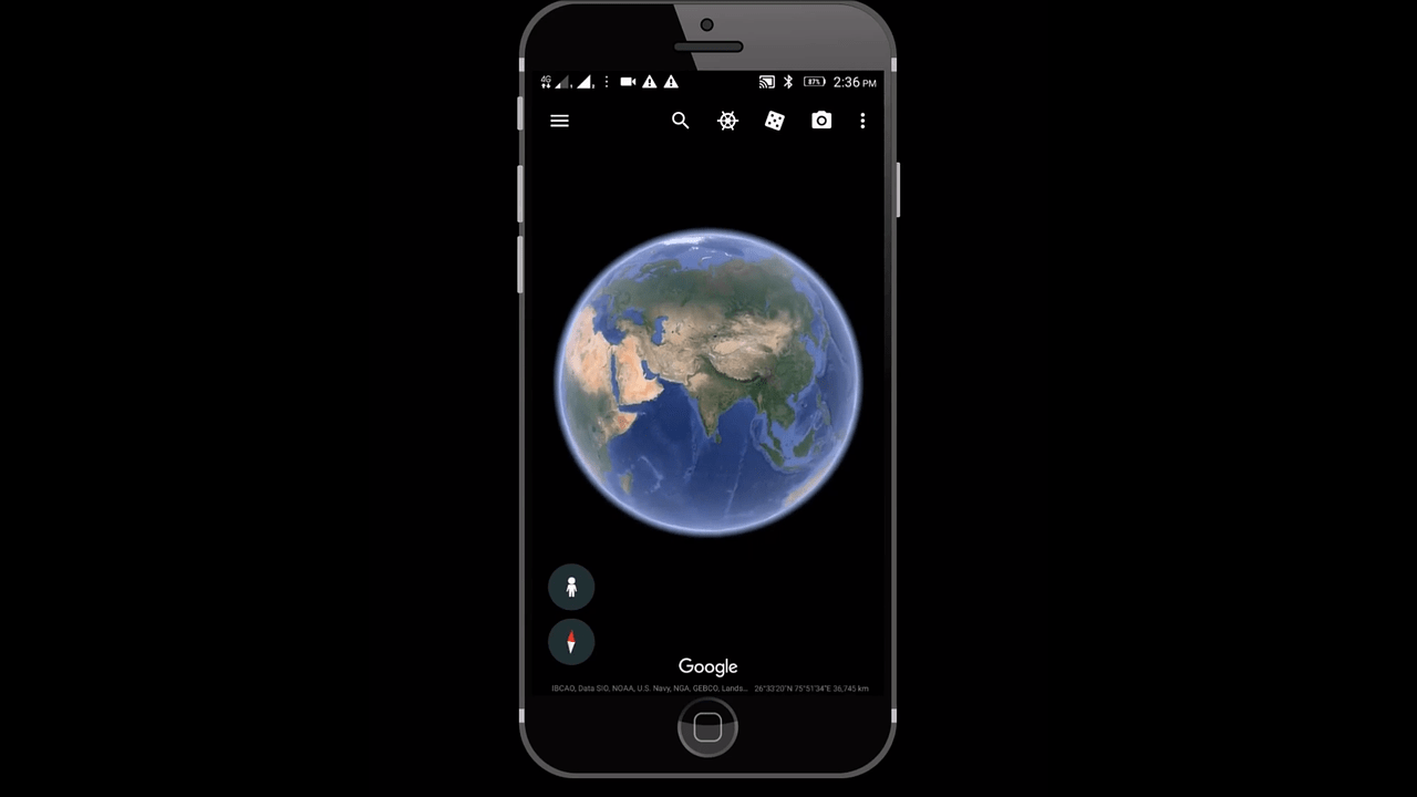 "Google Earth Unveils New ""Creation"" Tools For Users"