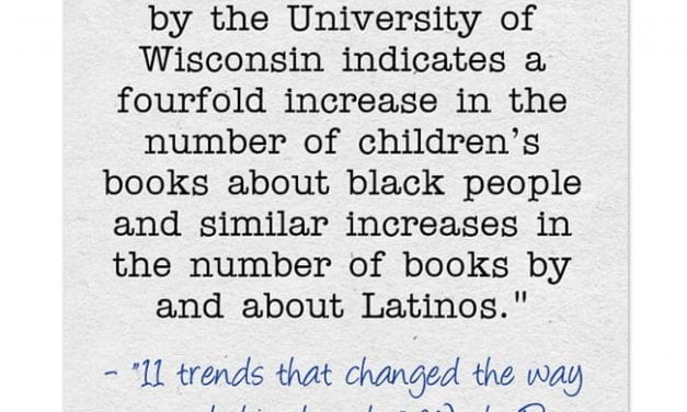 Statistic Of The Day: More Children's Books Have Characters Who Are People Of Color