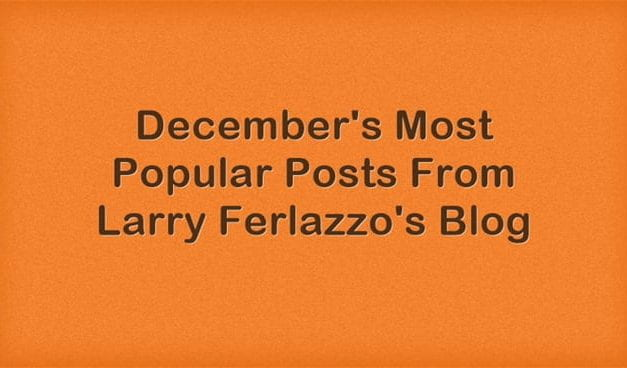 December's Most Popular Posts From This Blog