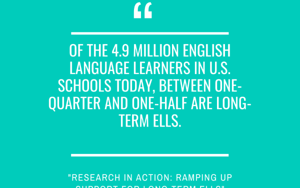 A Look Back: ASCD Educational Leadership Publishes My Article Describing Our School's Support For Long-Term ELLs
