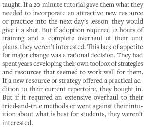 Every School District Staffperson In Charge Of Curriculum Adoption Should Read This Piece Explaining Why We Teachers Tend To Not Use The Materials