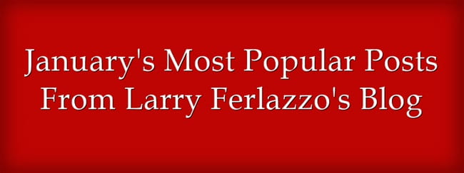January's Most Popular Posts From This Blog