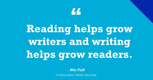 'Writing Helps Grow Readers'
