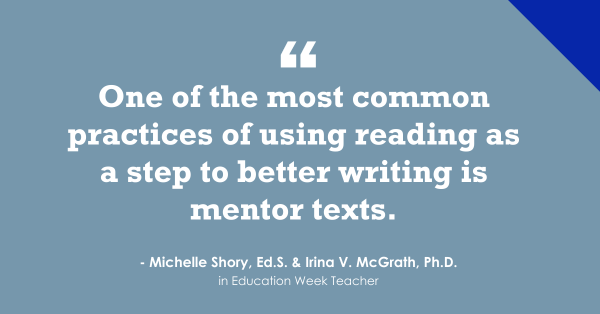 """""""Ways Reading Can Support Writing Instruction"""""""