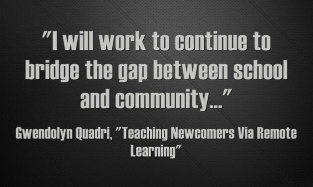 Guest Post: Teaching Newcomers Via Remote Learning