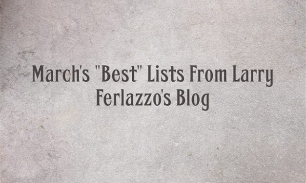 """March's """"Best"""" Lists – There Are Now 2,139 Of Them!"""