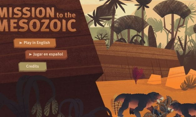 """Mission to the Mesozoic"" Is A Neat Bilingual Game About Dinosaurs"