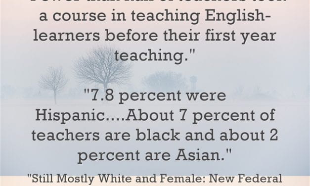 Two VERY Disturbing Statistics About The Teaching Profession