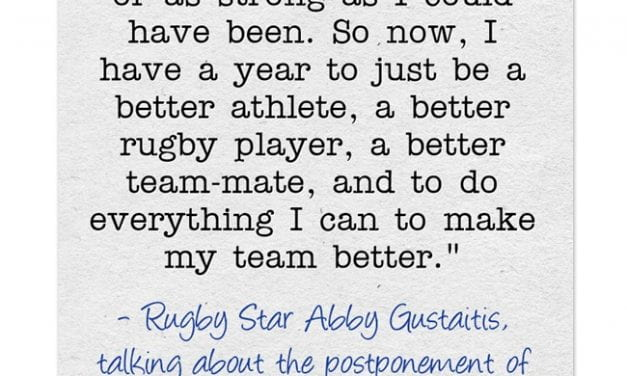 You Won't Find A Better Growth Mindset Quote Than This One From A Rugby Star
