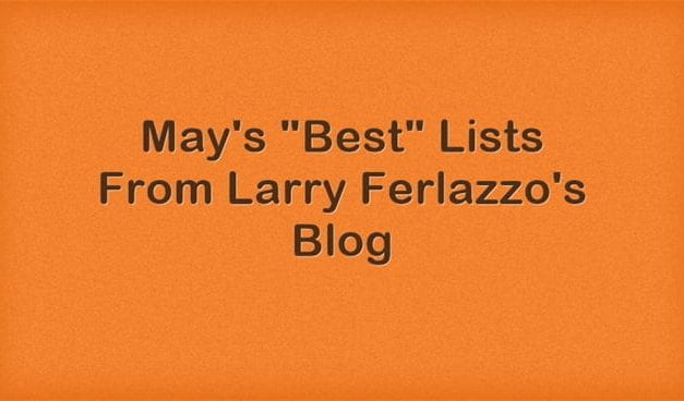 "May's ""Best"" Lists – There Are Now 2,153 Of Them!"