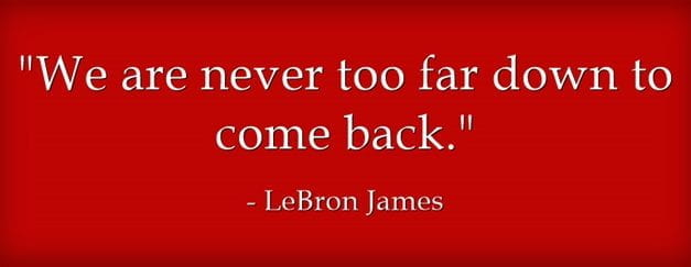 """Great New Nike Video With LeBron James: """"Never Too Far Down"""""""