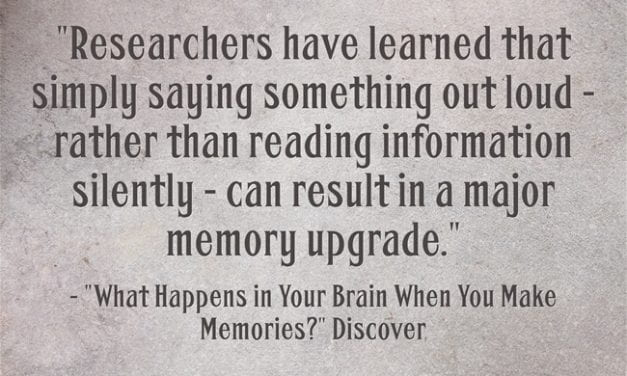 A Reminder Why It's Important To Have Students Repeat Words – & Read Text – Out Loud