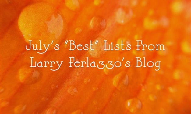 July's Best Lists – There Are Now 2,186 Of Them!