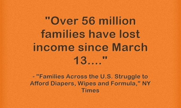 Statistic Of The Day: 56 MILLION U.S. Families Have Lost Income Since March 13th