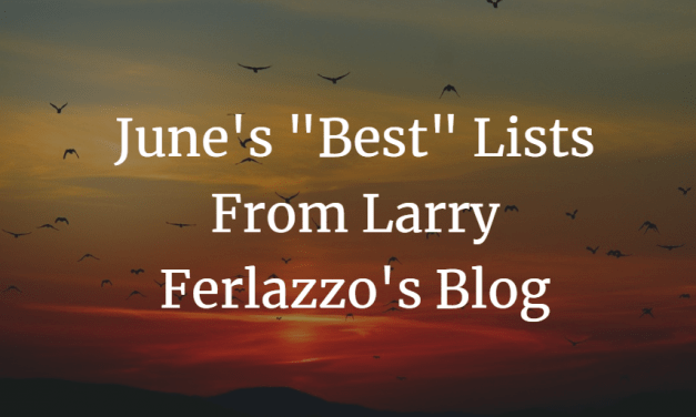 "June's ""Best"" Lists – There Are Now 2,180 Of Them!"