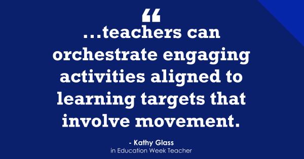 """Movement Helps Make 'Learning Joyful & Magical'"""