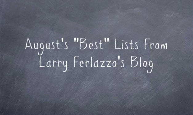 August's Best Lists – There Are Now 2,192 Of Them!