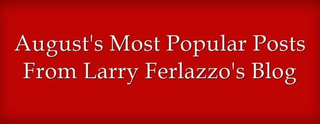 August's Most Popular Posts