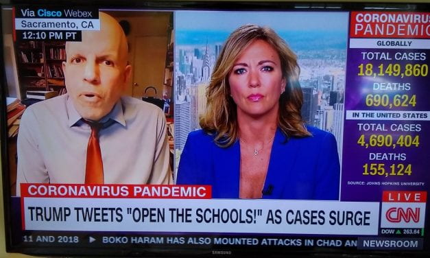 Video: Watch…Me Get Interviewed On CNN About School Reopening In The Fall