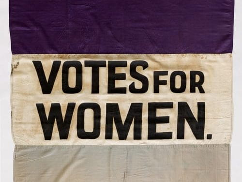 Two New Very Good Resources For Teaching About Women's Suffrage