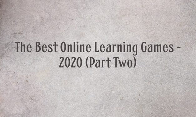 The Best Online Learning Games – 2020 (Part Two)