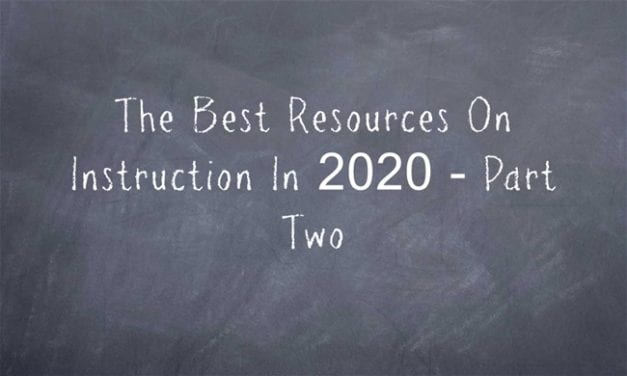 The Best Resources On Instruction In 2020 – Part Two