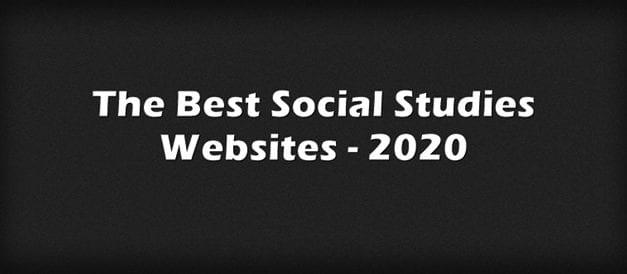 The Best Social Studies Websites – 2020