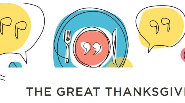 "StoryCorps Launches Annual ""Great Thanksgiving Listen"""