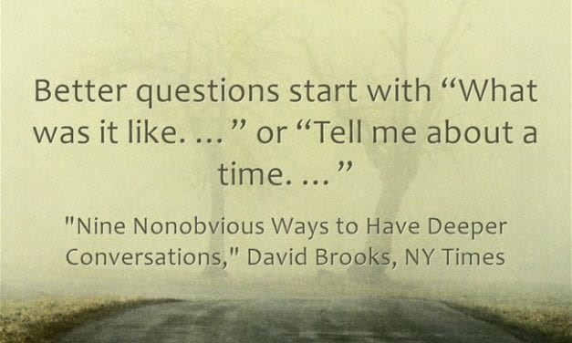 Excellent Guide To Having Conversations Includes A Lot Of Wisdom For Teachers