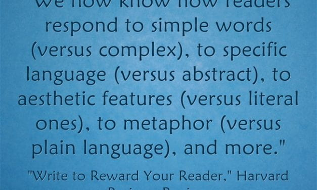This New Article Is The Most Interesting Piece On Writing Instruction That I've Read In A Long Time