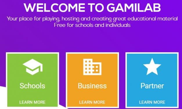"""Gamilab"" Looks Like A Decent Site For Creating Online Learning Games"