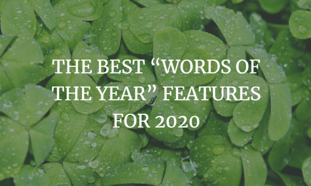 """The Best """"Words Of The Year"""" Features For 2020"""