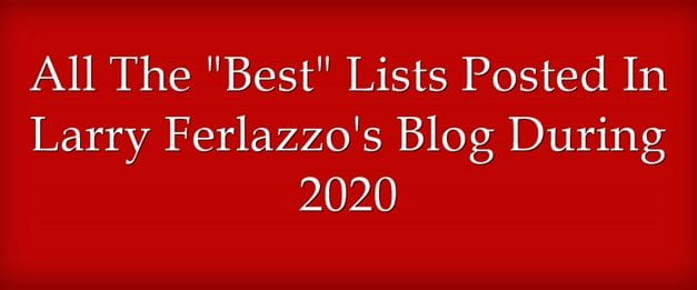 """All The """"Best"""" Lists Posted Here In 2020"""