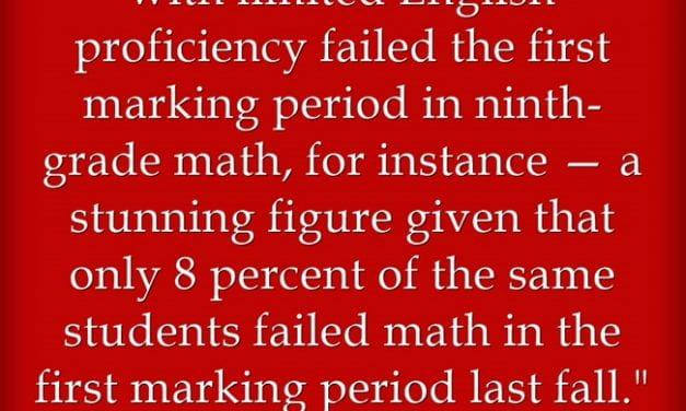Failing Grades Skyrocketing For Vulnerable Student Populations – Our Schools Have A Huge Problem