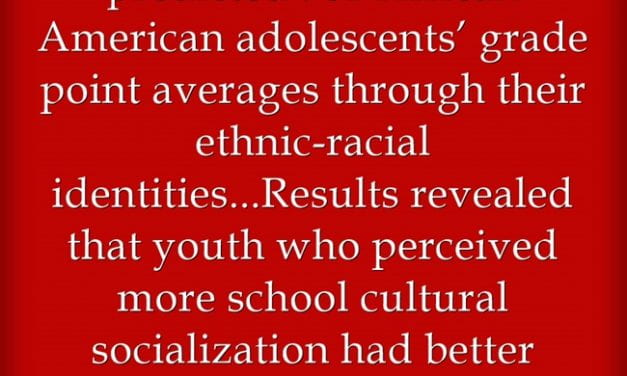 Surprise (Not)! New Study Finds Applying Asset-Based Instruction Helps Black Youth Academic Achievement
