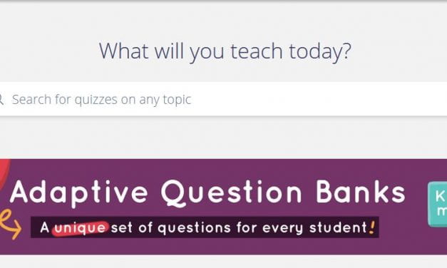 """This Is Intriguing: Quizizz Adds """"Adaptive Question Banks"""""""